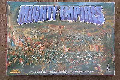 G W .. Mighty Empires, Box Game, Unpunched