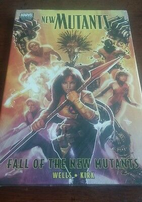 Marvel The New Mutants : Fall of the New Mutants graphic novel hardback new