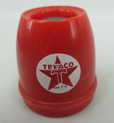 TEXACO STAR RED reusable Bottle Stopper Sealer IT PAYS TO FARM WITH TEXACO PROD