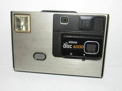 VINTAGE KODAK DISC 4000 CAMERA w/CASE - FREE US SHIPPING!