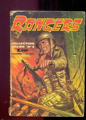 Rangers , Collection reliée n°3 (n°7 à 9), Editions Impéria, 1965