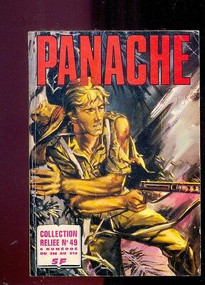 Panache Collection reliée n°49 (n°316 à 319), Editions Impéria, 1978