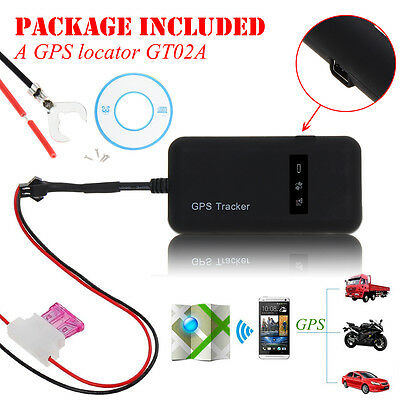 Mini Realtime Car GPS GSM Tracker Locator Vehicle/Truck Personal Tracking Device