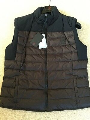 Cavalleria Toscana Technical Sleeveless Body Warmer M 38 Chest Look At My Animo