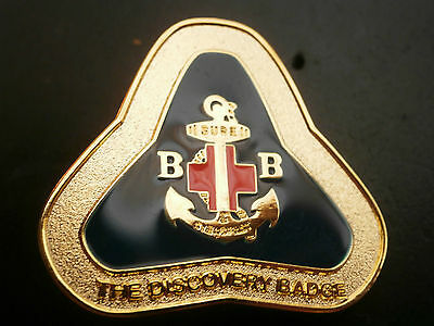 Boys Brigade BB The Discovery Badge Pin
