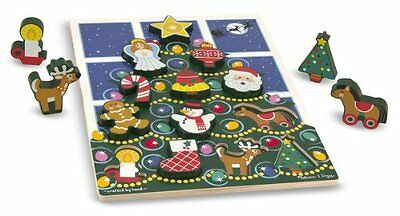 Holiday Tree Chunky Puzzle: Puzzles Wooden - Chunky Puzzles