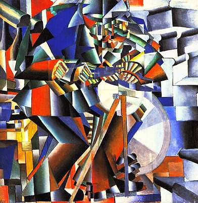 A3 -KAZIMIR MALEVICH THE KNIFE GR - FAMOUS PAINTERS CLASSIC PAINTINGS Posters #4