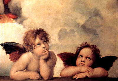 A3 - RAPHAEL  ANGEL- FAMOUS PAINTERS CLASSIC PAINTINGS Posters #4