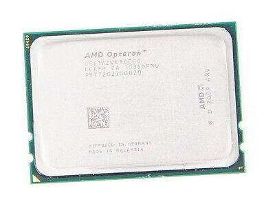 AMD OPTERON 6172 12-Core CPU OS6172WKTCEGO - 12x 2.1 GHz  2x 6 MB L3  Socket G34