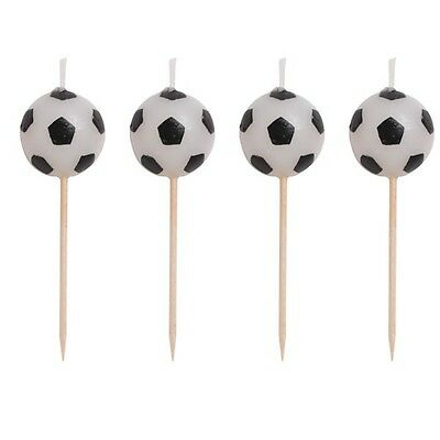 Party Supplies Birthday Decorations Boys Soccer Fanatic Soccer Ball Pick Candles
