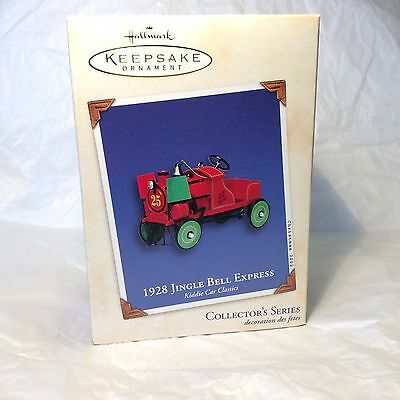 "Hallmark Christmas ""1928 Jingle Bell Express"" ornament series 9th 2002"
