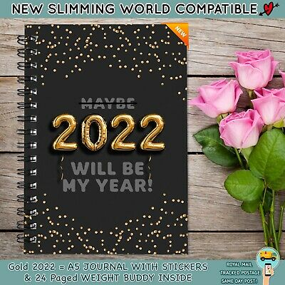 Food Diary Slimming World Compatible Book A Weight Loss Diet Journal Planner H