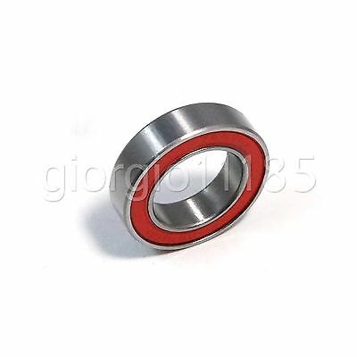 2pcs 17287-2RS Rubber Sealed Ball Bearing 17 x 28 x 7 mm for Rear Hub Bicycle