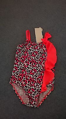 Girl's swimwear SIZE 1-2 swimmers bathers togs swimmers one piece  NEW