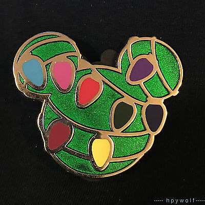 Disney MICKEY ICON SUPER CHASER Christmas Lights Mystery Collection LE 300 Pin
