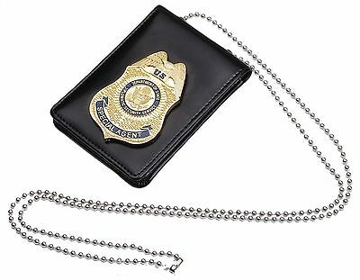 Fast Furious 7 Dss Driving Licence Badge With Id Wallet Holder Chain-US167