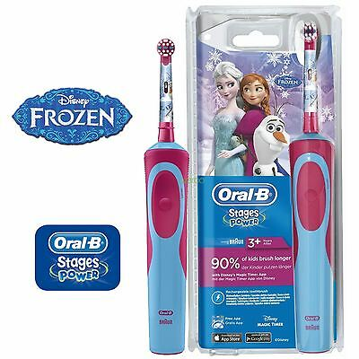 Braun Oral-B Stages Vitality Kids Disney Frozen Electric Toothbrush for Children