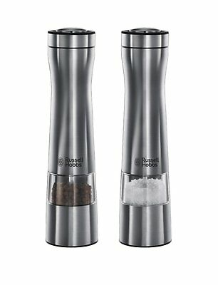 Russell Hobbs 22810-56 Battery Operated Classic Salt and Pepper Grinders