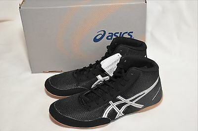 New Asics Wrestling Shoes Black Adult Mens Gum Sole Outer For Better Traction