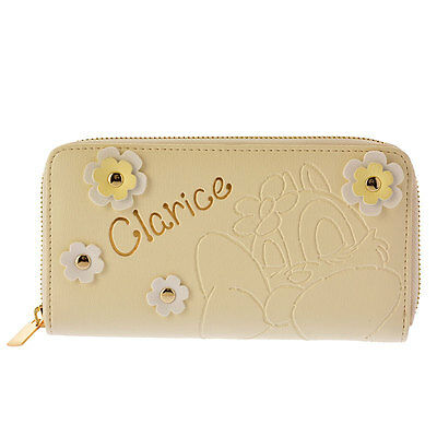 Disney Store JAPAN Clarice Sweet Harmony Wallet with Gift Bag NEW