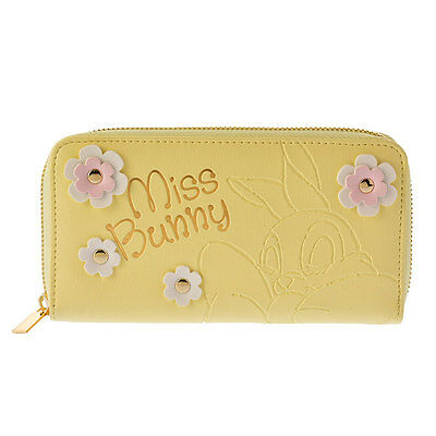 Disney Store JAPAN Miss Bunny Sweet Harmony Wallet with Gift Bag NEW