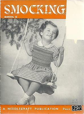 Vintage Smocking Booklet No.2 - Needlecraft