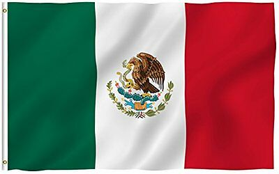 Fiesta Lightweight Colorful Polyester Cinco de Mayo Mexican Party Flag -3x5-Foot