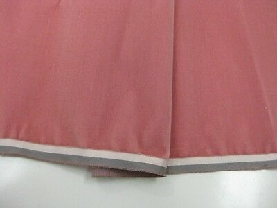 Antique Velvet fabric yardage France Victorian cotton silk Pink Ophelia BH9