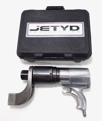 "HYTORC TORCGUN jGun JGUN-A5 1-1/2"" Dr. Pneumatic Torque Wrench 5,200 FT LB - USA"