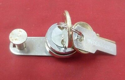 Medeco Upper Lock w/ 2 Keys for GTE Palco Quadrum Payphones Payphone Pay Phone