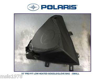 "Goggle/glove Low Heated Bag,polaris 15"" Pro Fit,brand New, Storage #2880481"