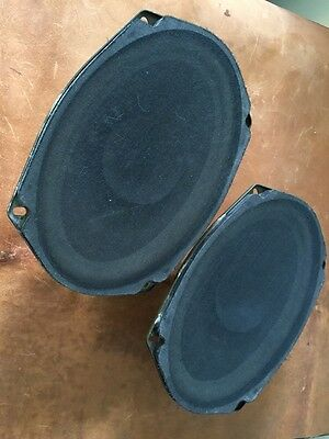 Delco 4 Ohm 6x9 GM Speakers Delco 16040886 6 x 9