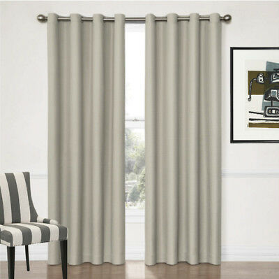 Quickfit Blackout 3 Pass Foam Coated Eyelet Thermal Blockout Curtain