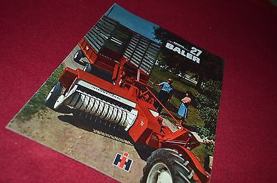International Harvester 27 Baler Dealers Brochure DCPA5