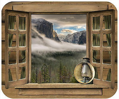 Mouse Pad Custom Thick Mousepad-Window-Yosemite-Use Your Picture And Text
