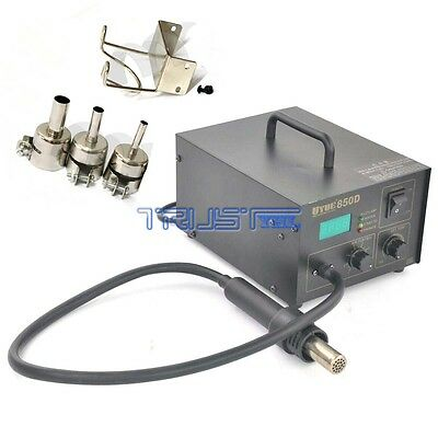 YOUYUE 850D SMD Hot Air Gun Rework Soldering Repair Station 110V