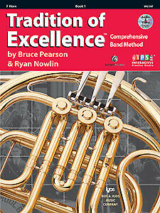 Pearson & Nowlin: Tradition of Excellence Book 1 French Horn - Kjos W61HF Bra...