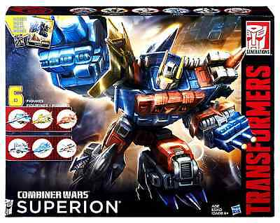 Transformers Combiner Wars G2 Aerialbots Superion Box Set