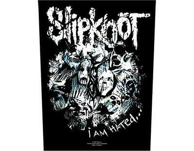Official Licensed - Slipknot - I Am Hated Woven Sew-On Back Patch