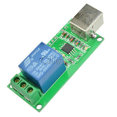 1 Channel USB Relay 5V Programmable Computer Control For Smart Home