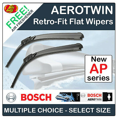 "Bosch 'Ap' Aerotwin Retrofit Flat Front Wiper Blades - All Sizes 13"" To 32"""