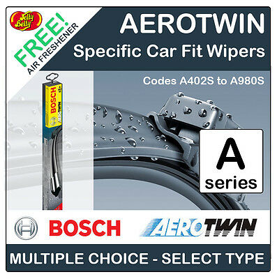 Bosch Specific Car Fit Aerotwin Front Wiper Blades (2)  Full Range A402S > A980S