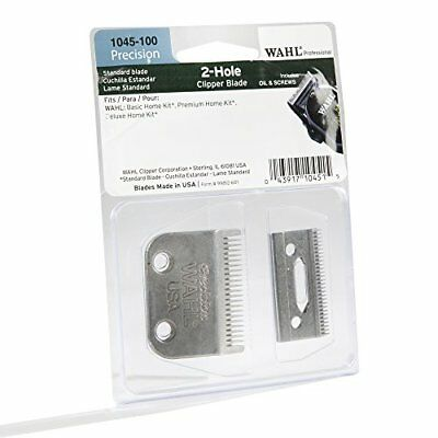 Wahl # 1045-100 Replacement Blade Set Pro 2 Hole Precision Clipper Blade