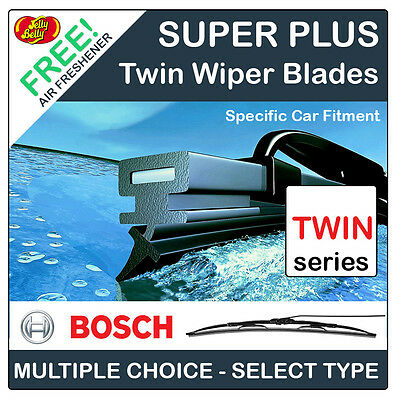 Bosch Standard Twin Front Windscreen Wipers - Specific Car Fitment (Basic Type)