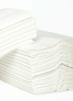 2400 White 2 Ply Soft & Ultra Absorbent C-Fold Hand Towel 310mm x230mm