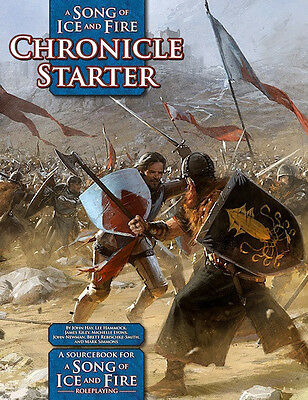 A Song of Ice and fire roleplaying CHRONICLE STARTER rpg gdr