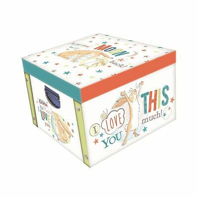 Guess How Much I Love You Design Large Collapsible Storage Box