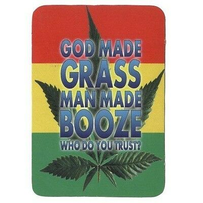 Who Do You Trust? - Aufkleber Sticker #313 Drugs Joint Cannabis Grass FUN Kiffen