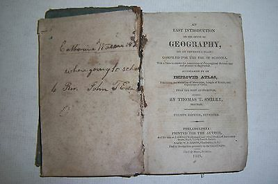 Easy Introdudtion to GEOGRAPHY for Use of Schools. By Thomas Smilley 1825, rough