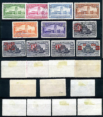 1940 Costa Rica + Air Mail Used  Mh   Ont618